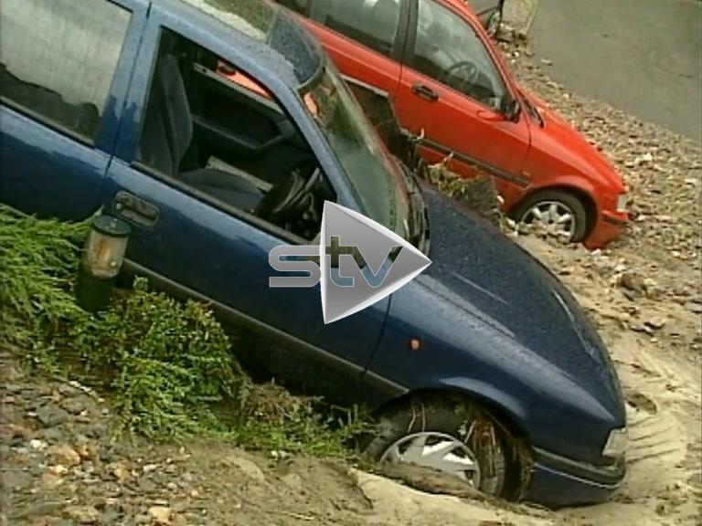 Flash Floods Destroy Cars