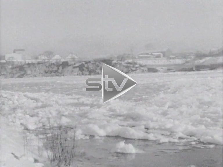 Frozen River Dee