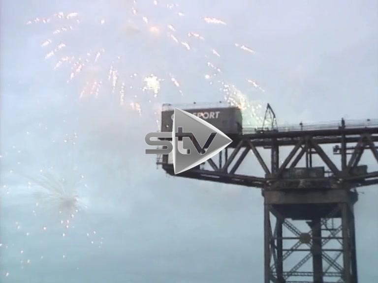 Finneston Crane Fireworks