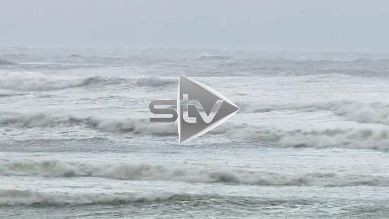 Storm Gertrude Hits Gourock