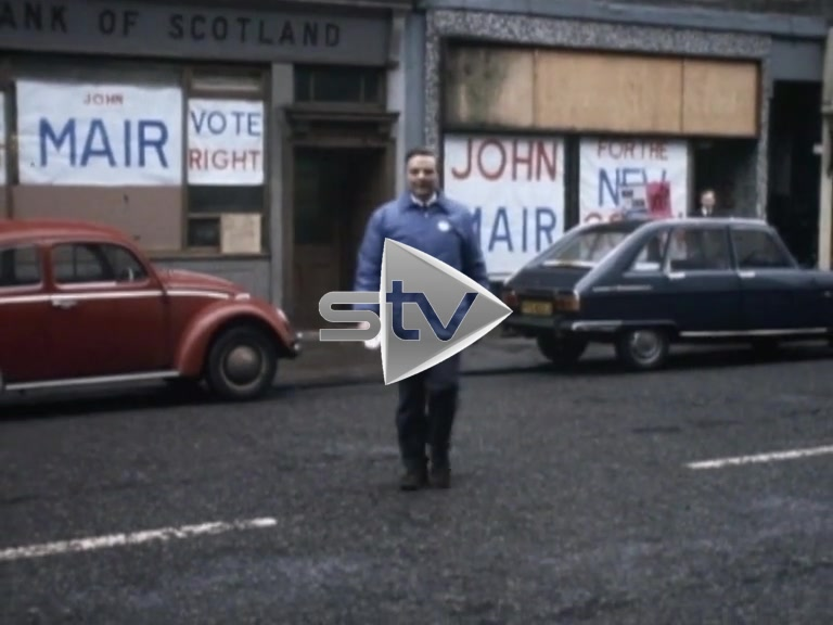 Govan Candidates for 1974 General Election