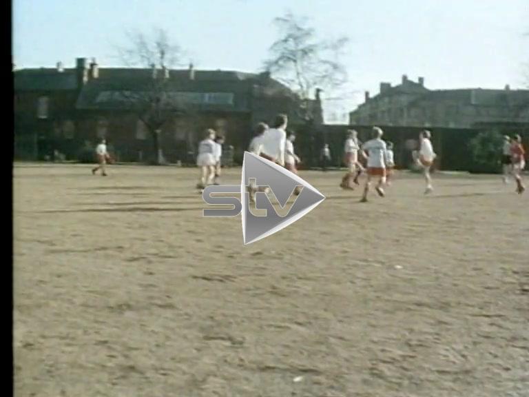 Children Playing Football Govan