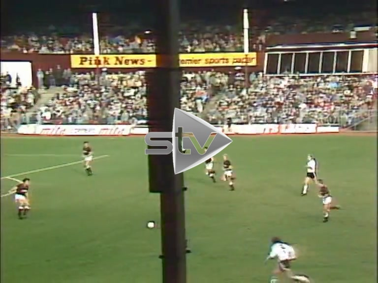 Hearts vs Dundee Utd October 1986