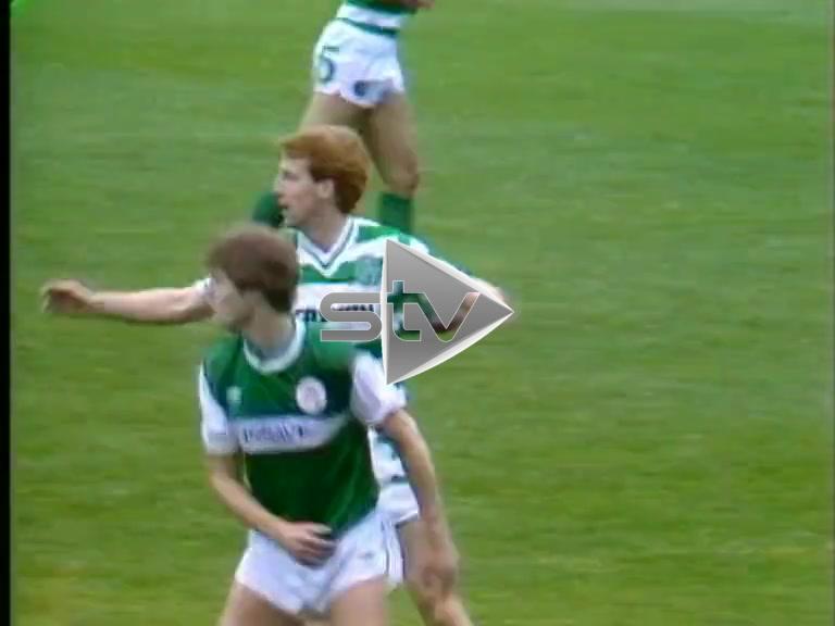 Celtic vs Hibs September 1985