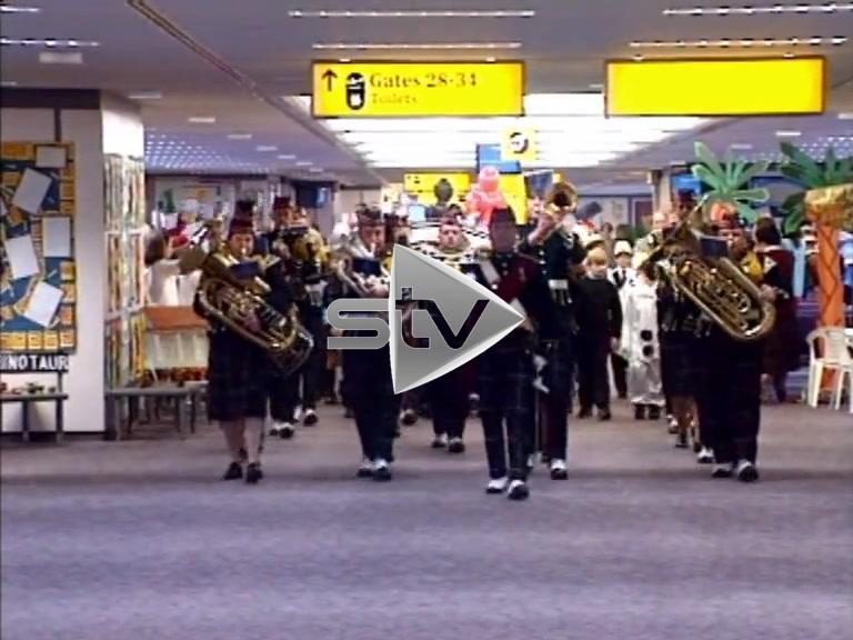 Glasgow International Terminal Opens