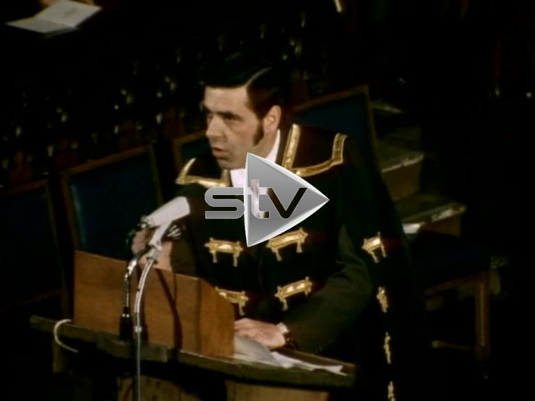 Jimmy Reid Rector Speech