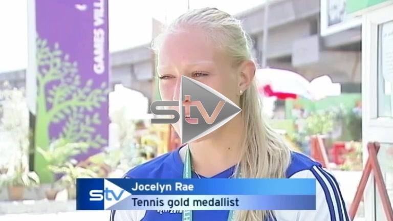 Jocelyn Rae Wins Gold