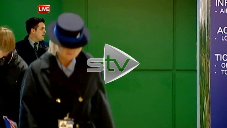 Kenny Richey Arrives in Scotland