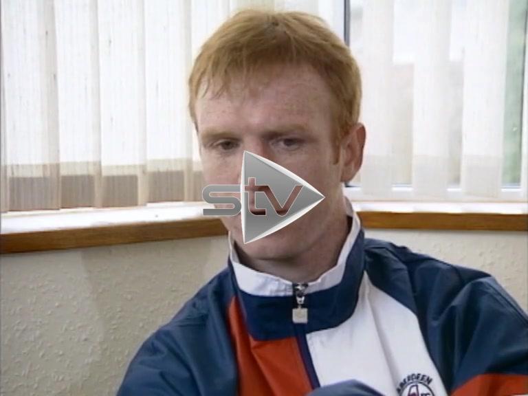 Alex McLeish Scotland Captain