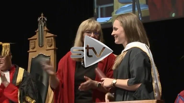 Kim Little Receives Honorary Degree