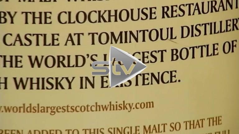 Largest Bottle of Whisky