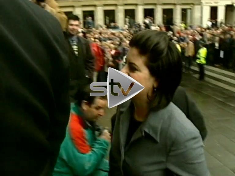 Monica Lewinsky Glasgow Visit