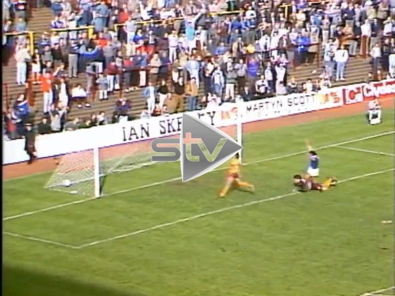 Rangers Vs Motherwell October 1985