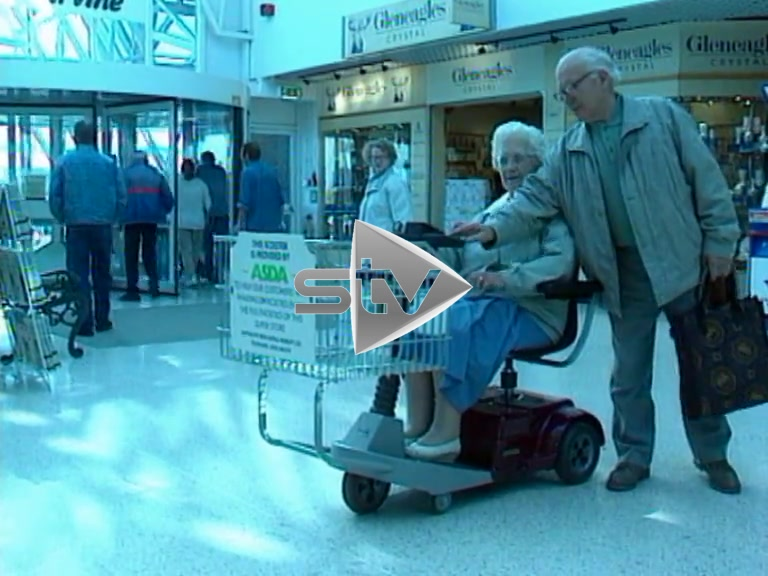 Motorised Shopping Trollies