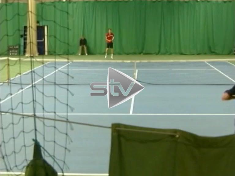 Andy Murray Indoor Match