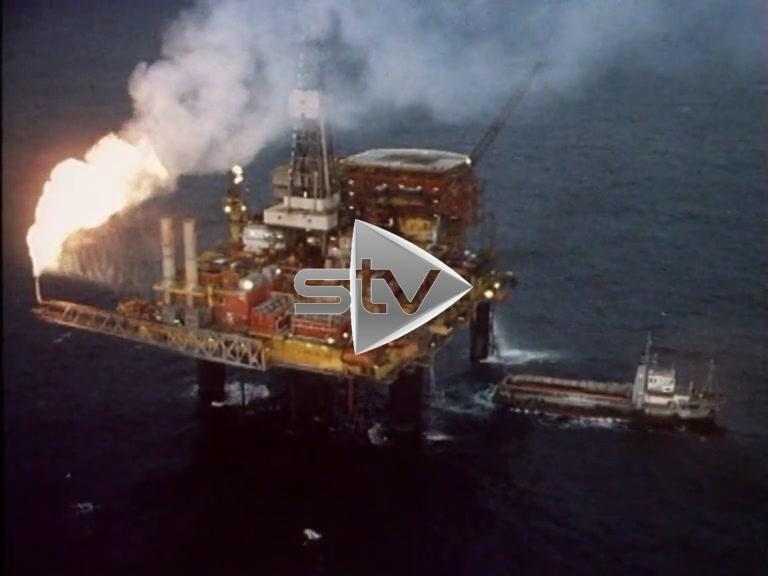 Dunlin & Cormorant Oil Rig