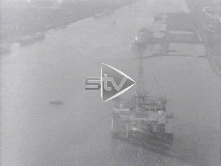 Oil Rig Aerials 1967