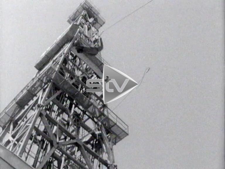 Staflo Oil Rig 1967