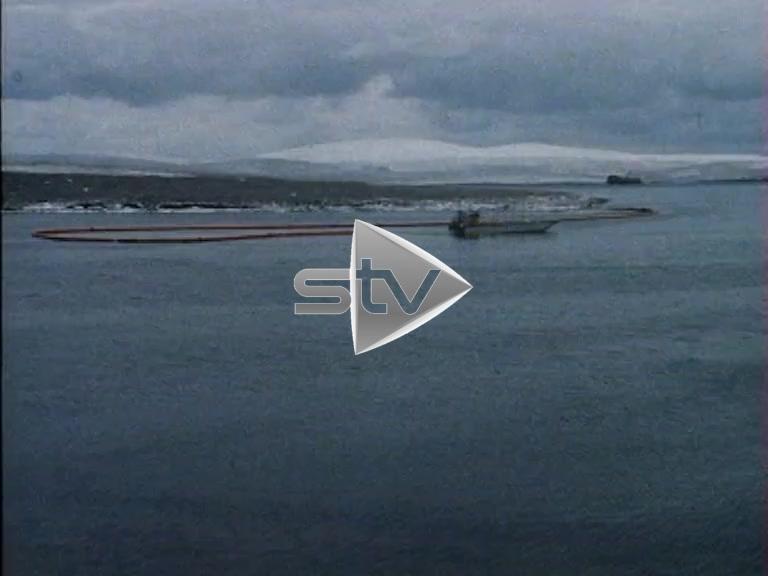 Sullom Voe Oil Spill