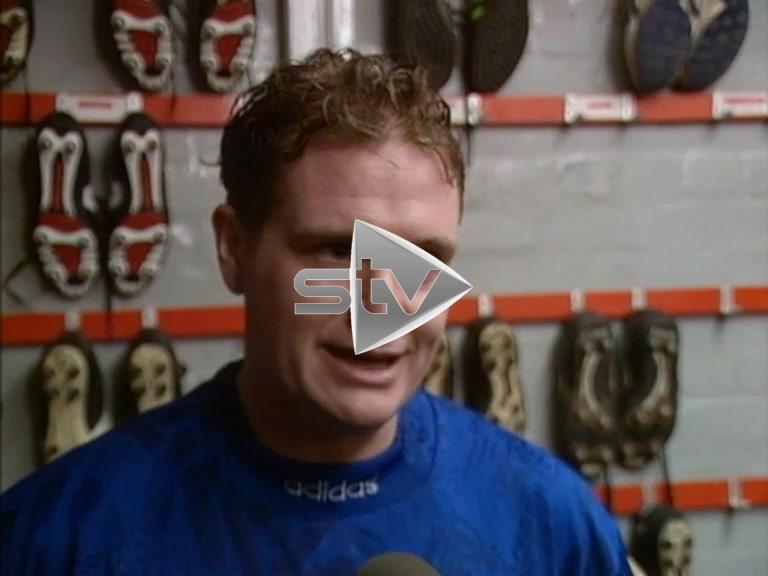 Gascoigne Post Match Interview
