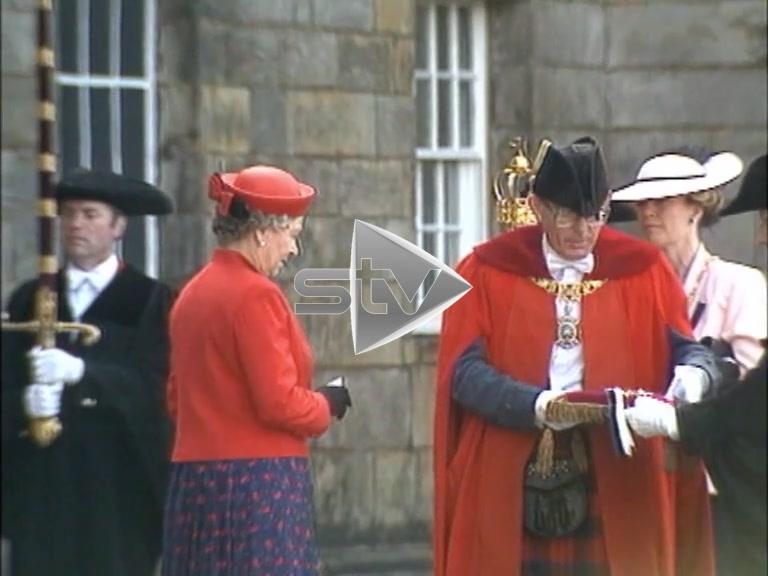 The Queen in Edinburgh