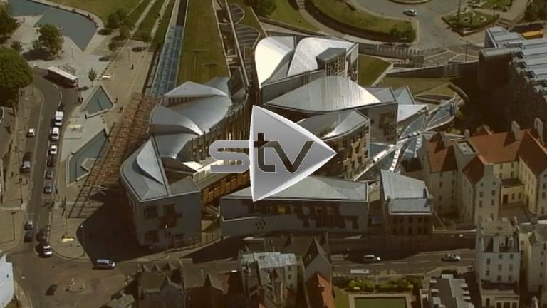 HD Aerials of Scottish Parliament