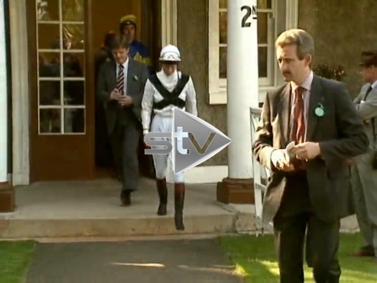 Princess Anne at Hamilton Racecourse