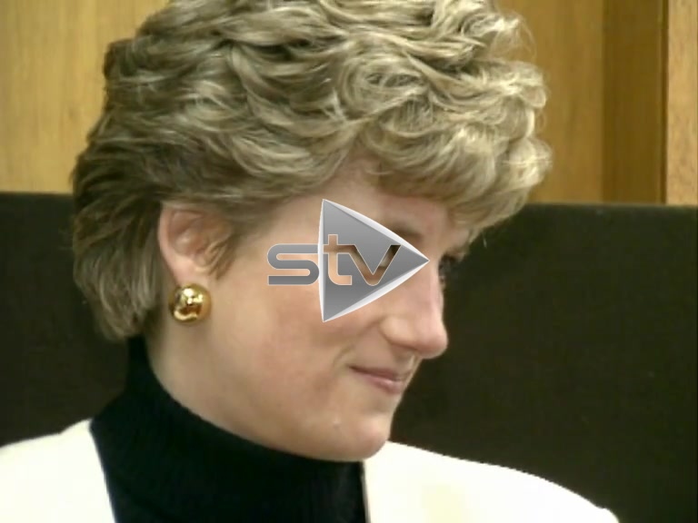 Princess Diana at Queens College