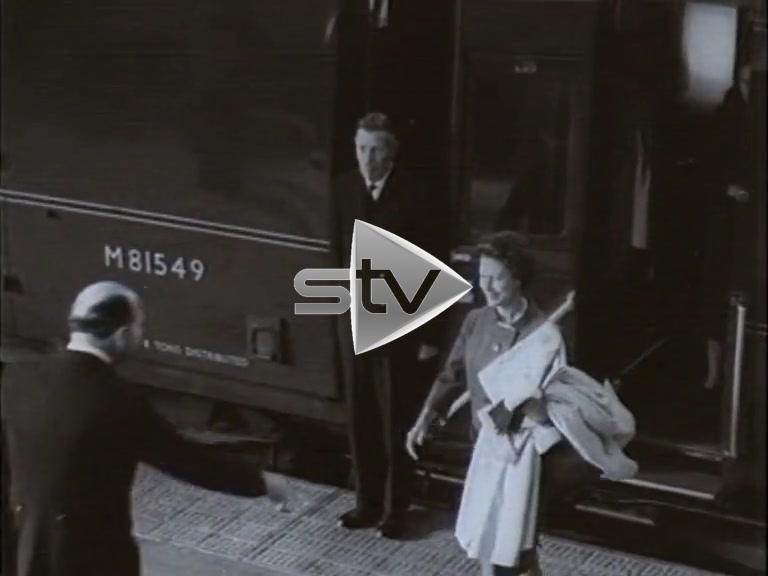 Princess Margaret in Aberdeen