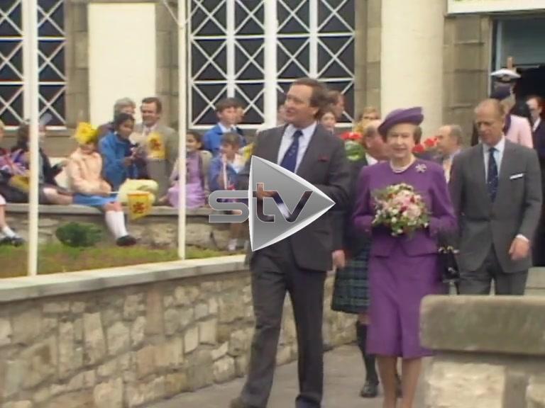 The Royals at Edinburgh Zoo
