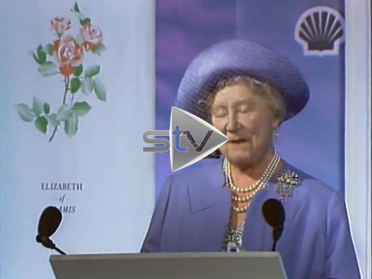 Queen Mother at Eider Platform