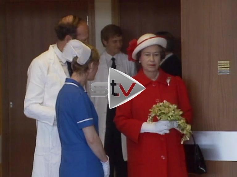 The Royals at The Royal Infirmary