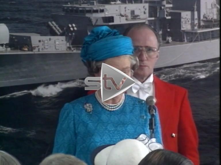 HMS Lancaster Launch