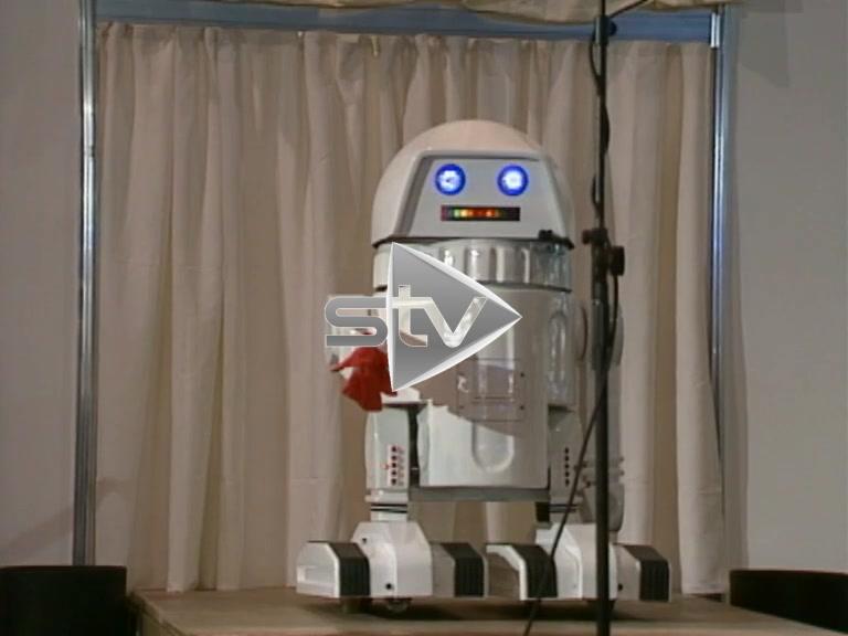 Cheeky Little Robot