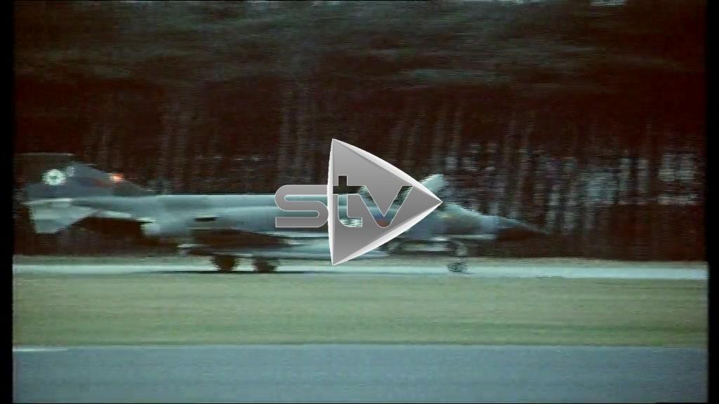 RAF Leuchars Phantom Jets