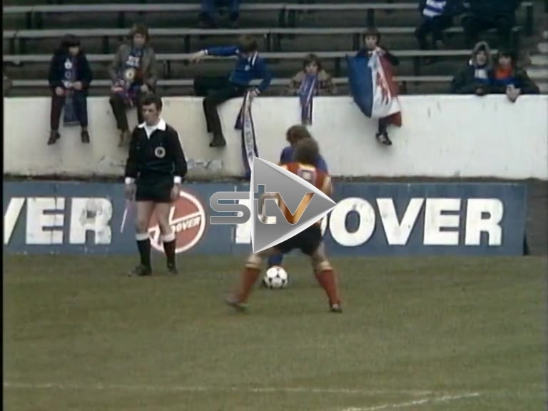 Partick Thistle vs Rangers March 1980