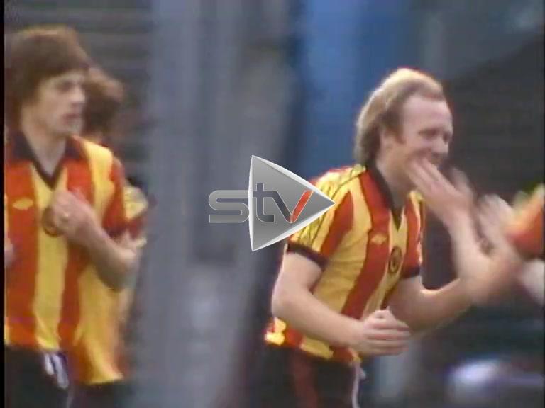 Rangers v Partick Thistle 1977