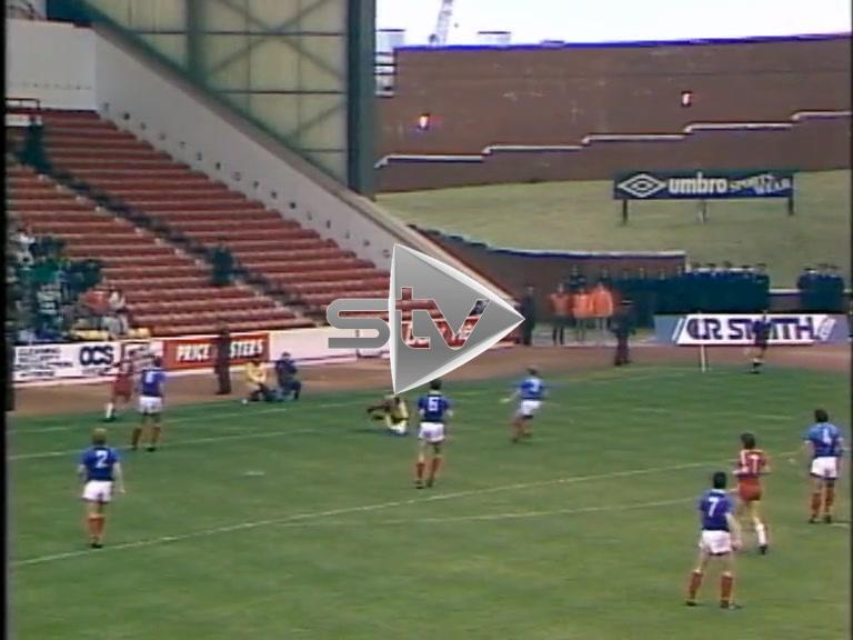 Rangers vs Aberdeen September 1986