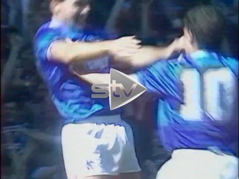 Dundee Utd vs Rangers August 1986