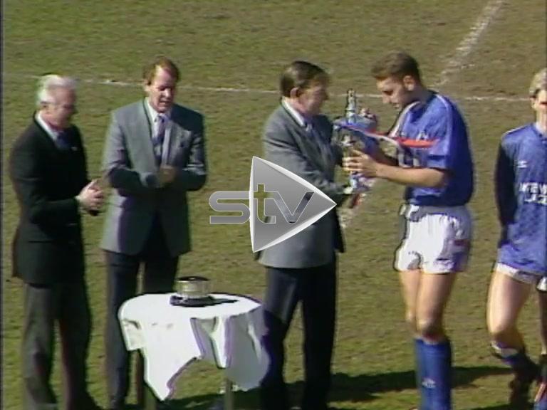 Rangers Win League Cup 1989