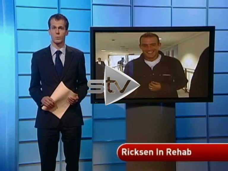 Ricksen Heads to Rehab