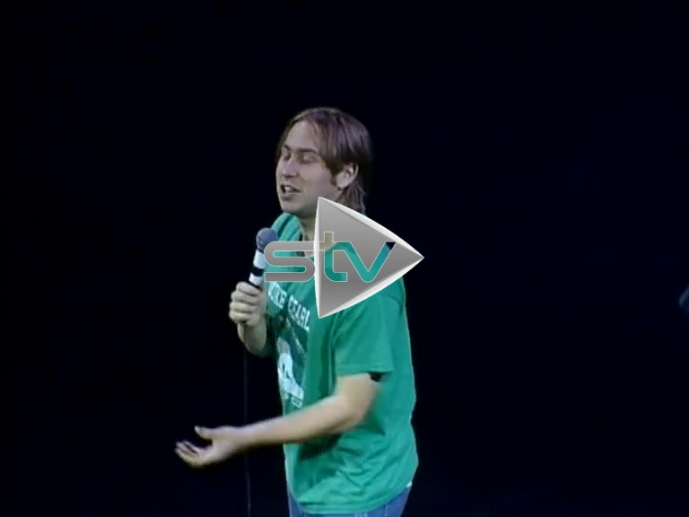 Russell Howard at The Fringe (2004)