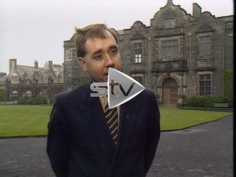 Salmond Views on St Andrews