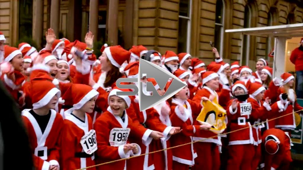 Santa Dash 2014