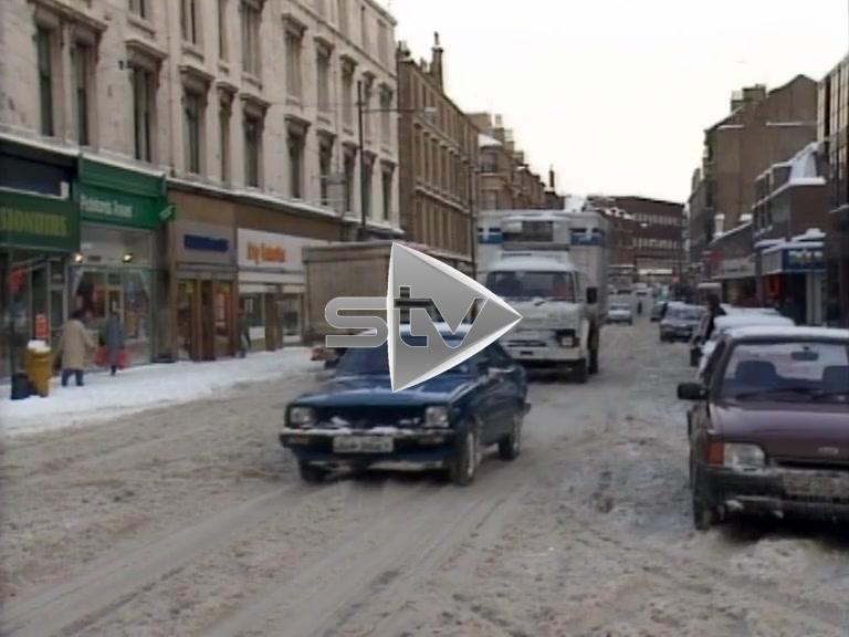 Heavy Snow Glasgow 1987