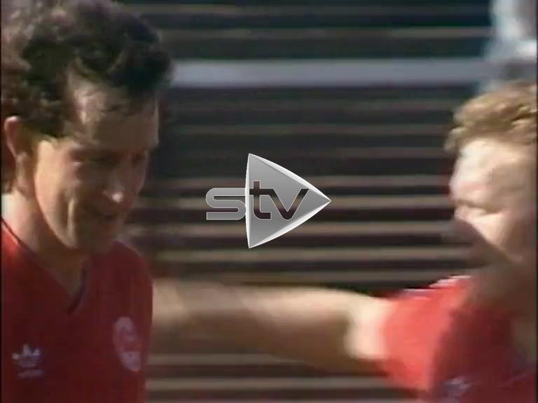 St Mirren vs Aberdeen September 1986