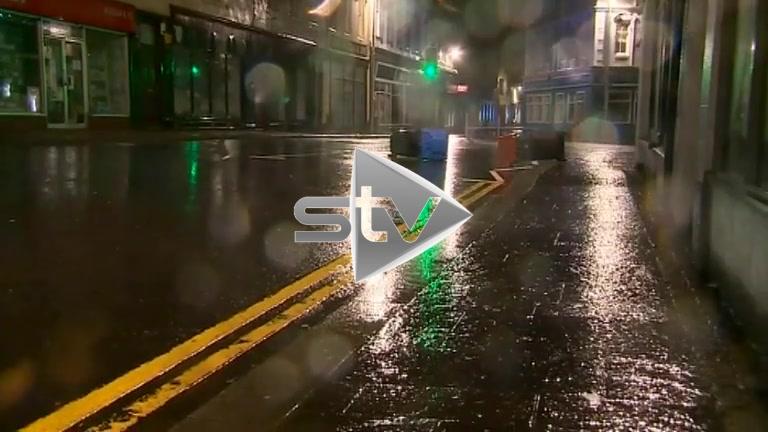 Storm Hits Stornoway