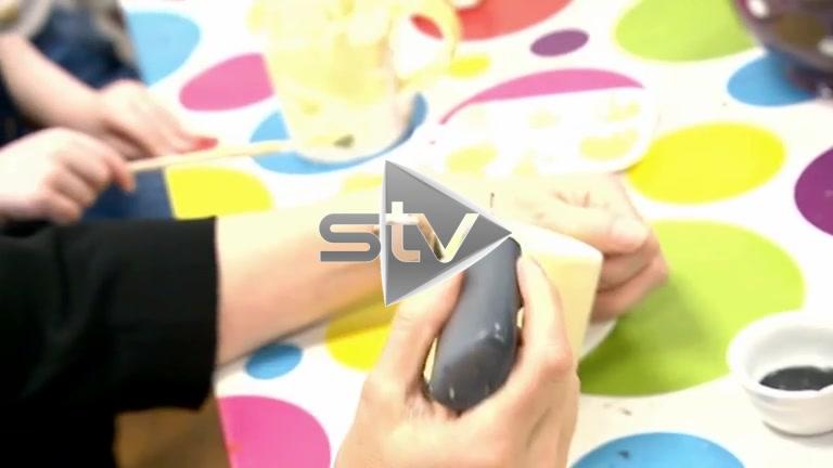 Nicola Sturgeon Painting Ceramics