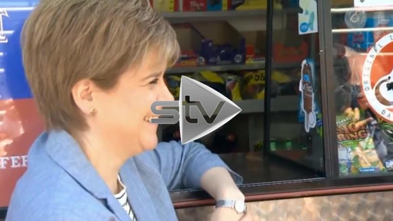 Sturgeon and the Ice Cream