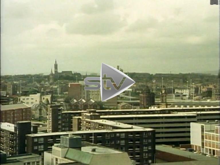 Glasgow Skyline 1983